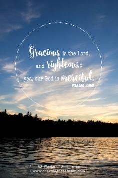 14/52 Psalm 116:5