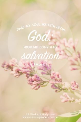 20/52 - Psalm 62:1
