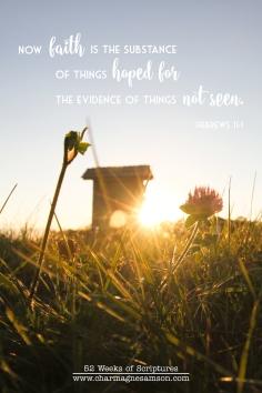 22/52 - Hebrews 11:1