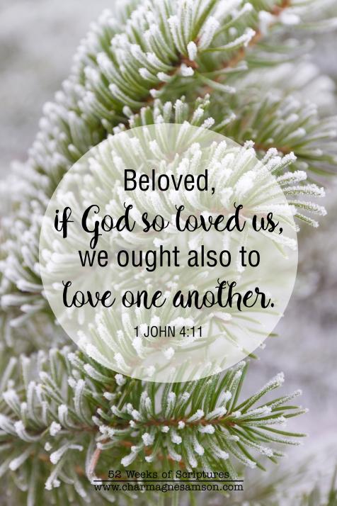 26/52 - 1 John 4:11