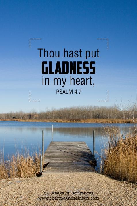 27/52 - Psalm 4:7