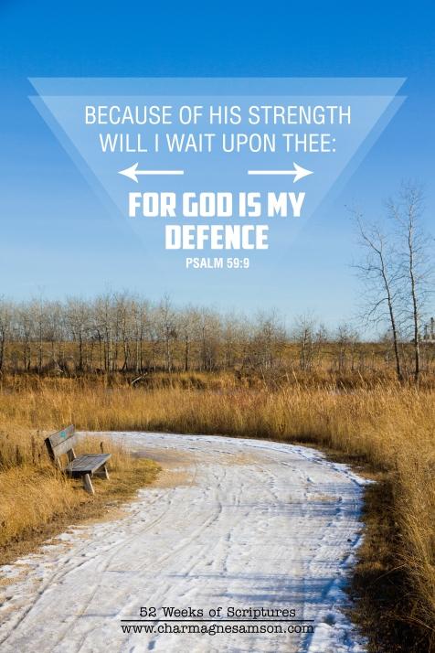 28/52 - Psalm 59:9