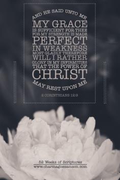 4/52 - 2 Corinthians 12:9