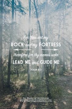 9/52 - Psalm 31:3